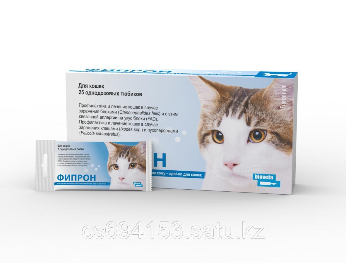 Фипрон Spot-on для кошек: Продукт против блох и клещей содержащий фипронил