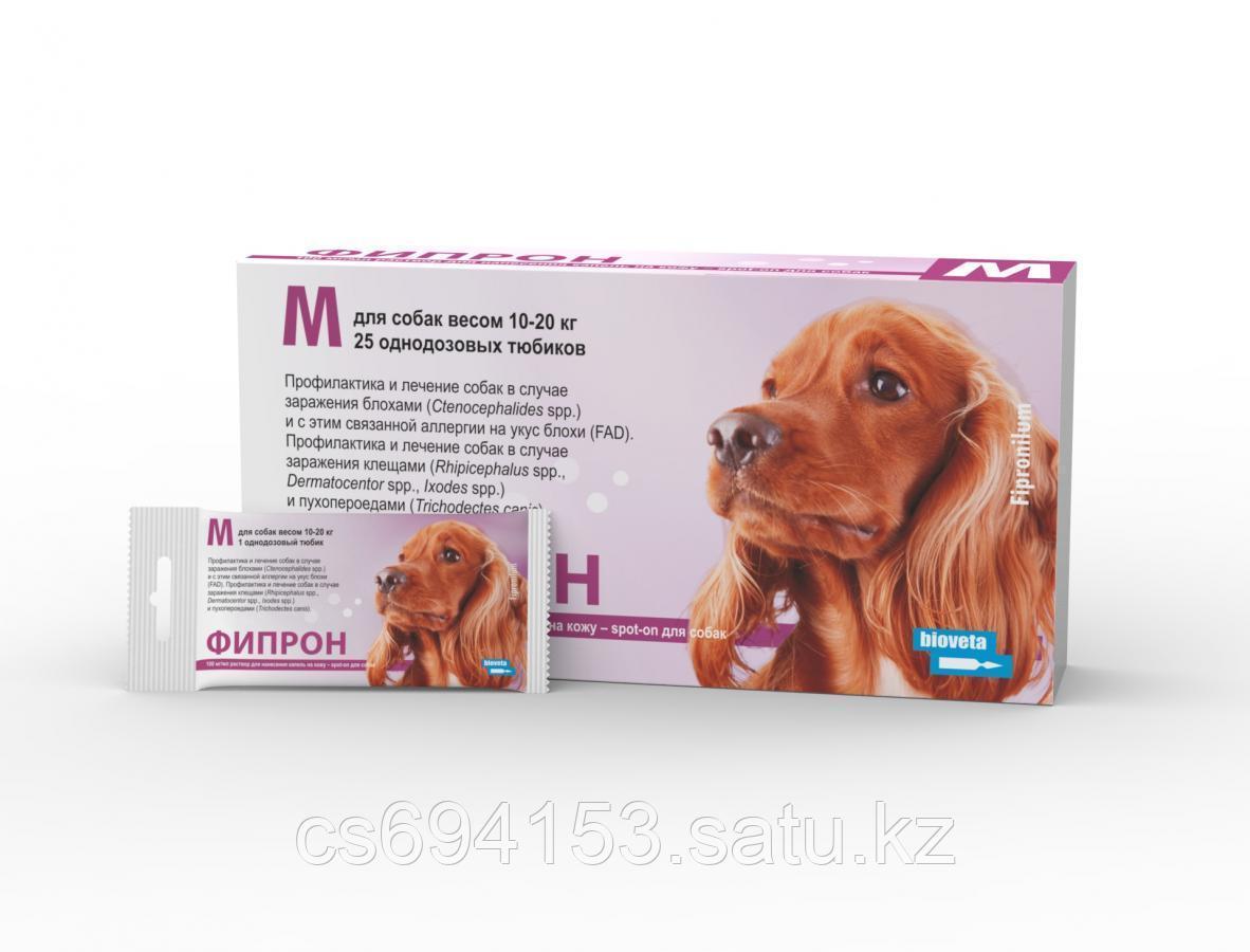 Фипрон Spot-on М: Продукт для собак против блох и клещей содержащий фипронил (1,34 мл)