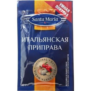 Итальянская приправа Santa Maria, 10 гр