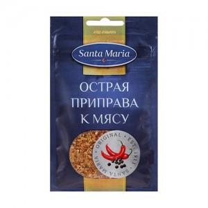 Приправа острая к мясу Santa Maria, 20 гр