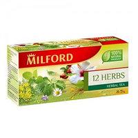 Чай Milford 12 трав, 20 пакетиков