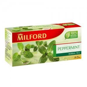 Чай Milford мята перечная, 20 пакетиков