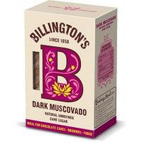 Сахар нерафинированный Billington's Dark Muscovado, 500 г