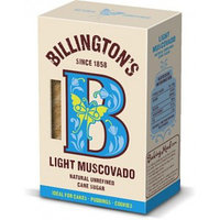 Сахар нерафинированный Billington's Light Muscovado, 500 г