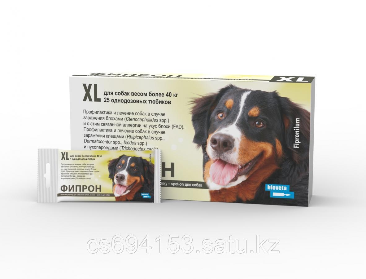 Фипрон Spot-on XL: Продукт для собак против блох и клещей содержащий фипронил (4,02 мл)