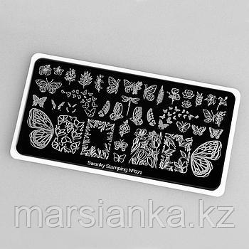 Пластина Swanky Stamping #071