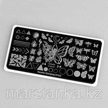 Пластина Swanky Stamping #072