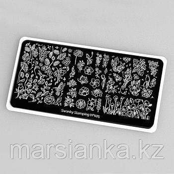 Пластина Swanky Stamping #075