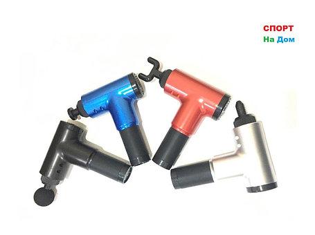 Массажный перкуссионный пистолет (4 насадки), фото 2
