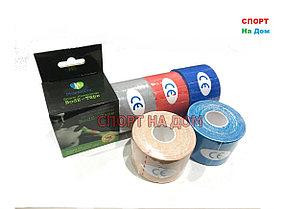 Кинезио тейп - пластырь для поддержки мышц 5 см х 5 м