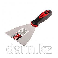 Шпательная лопатка из нержавеющей стали, 100 мм, двухкомпонентная ручка Matrix