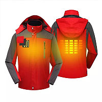 Зимние женские и мужски Электрический Куртка с подогревом