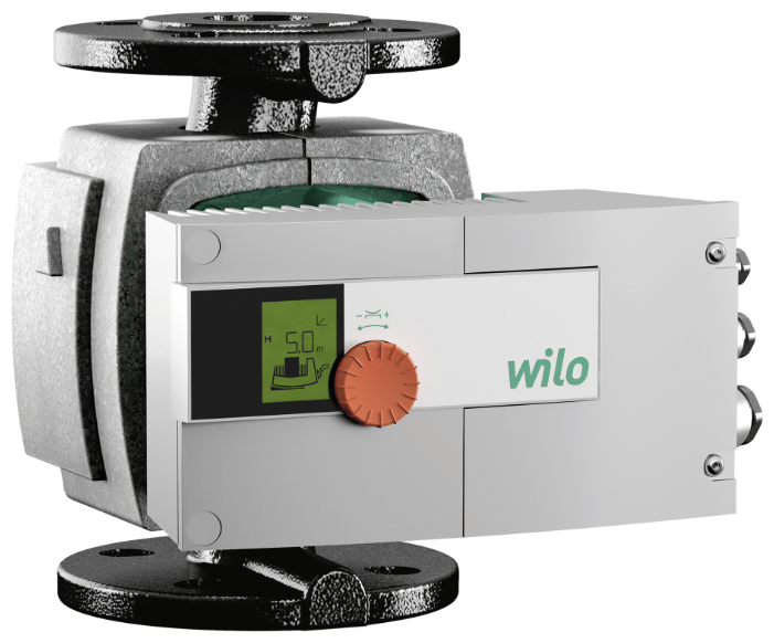Циркуляционный насос с мокрым ротором серия Wilo, Stratos 50/1-12 PN6/10