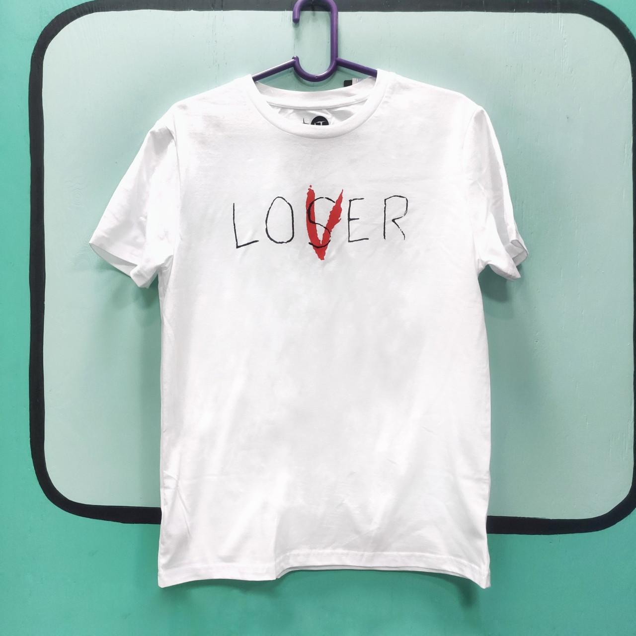 "Футболка ТВОЕ ""LOVER/LOSER"" - Оно"