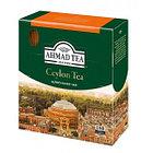 Чёрный чай Ahmad Tea Цейлонский, 100 пакетиков