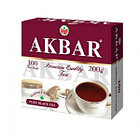 Чёрный чай Akbar, 100 пакетиков