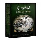 Чёрный чай Greenfield Earl Grey Fantasy, 100 пакетиков
