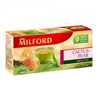 Зелёный чай Milford ягода опунции, 20 пакетиков