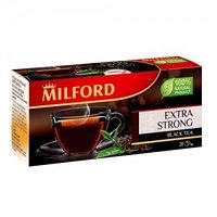Чёрный чай Milford особо крепкий, 20 пакетиков