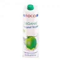 Кокосовая вода Foco, органик, 1л