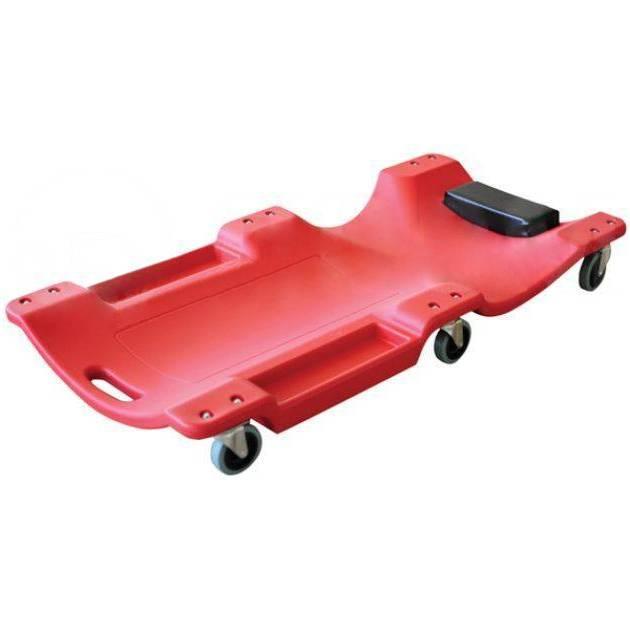 Лежак подкатной,пластмассовый JINTENG TP-40-1