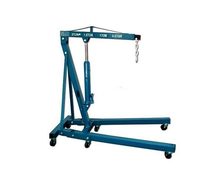 Кран гаражный гидравлический, складной Jinteng T62202 ( г/п 2000 кг.)