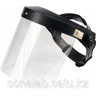 Защитный экран - Пластиковый прозрачный щиток для защиты лица персонала