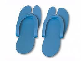 Тапочки-вьетнамки 25 пар синие