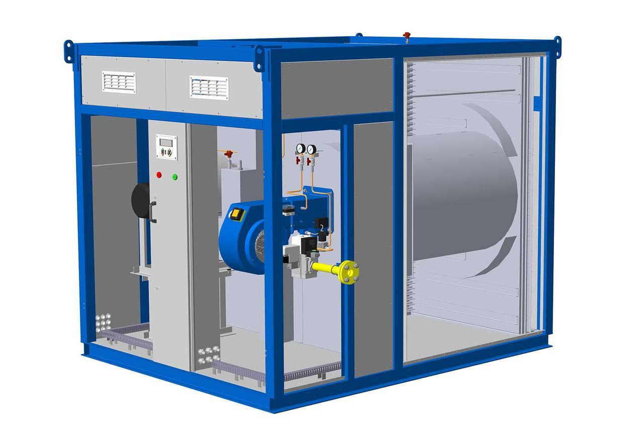 Теплогенераторы промышленные рекуперативные газовые АЭРТОН-К-160К