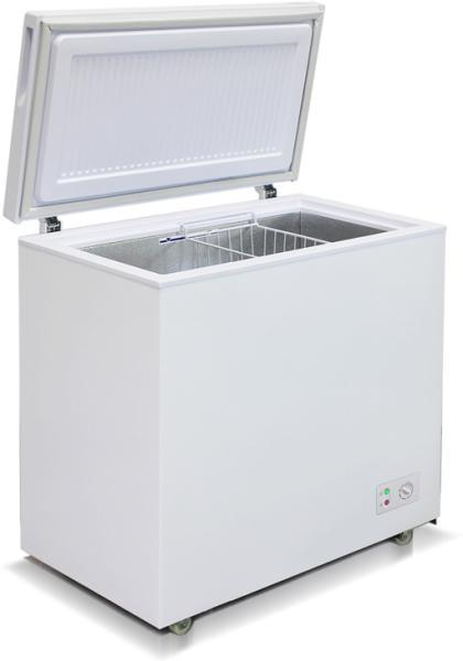 Морозильный ларь с глухой крышкой бирюса 210КХ