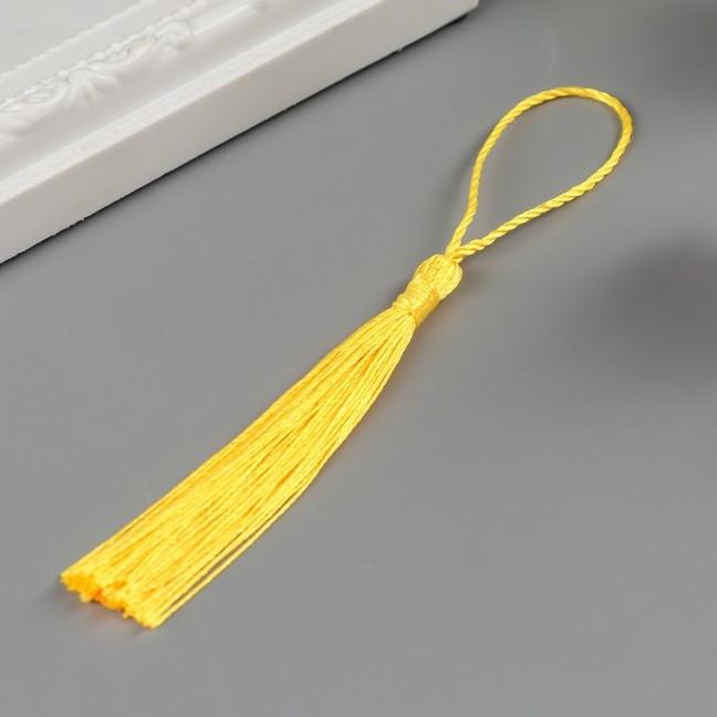 Кисточка, цвет желтый