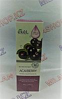 Ekel Acai Berry Natural Clean Peeling Gel, 100мл - Пилинг-гель (скатка) для лица с экстрактом ягоды Асай