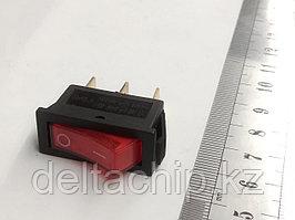 Клавиша 2 положения с/ф 3 контакта  15А (3с) подсветка 220v