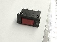 Клавиша 2 положения с фиксацией 3 конт. предохранитель 10А подсветка, фото 1