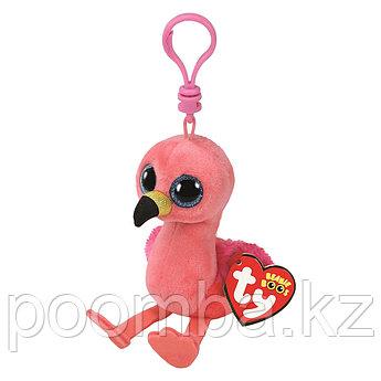 Игрушка-брелок Гилда фламинго розовый 10 см