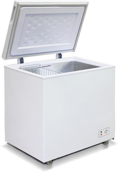 Морозильный ларь с глухой крышкой бирюса 200KХ