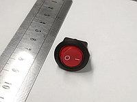 Выключатель 36-2570  клавишный  круглый 250V 6A, фото 1