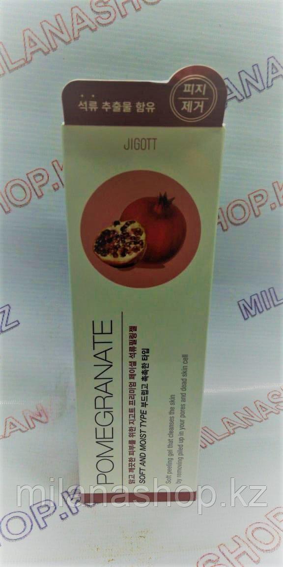 Jigott Premium Facial Pomegranate Peeling Gel - Пилинг-гель с экстрактом граната