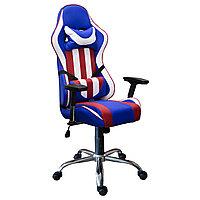 """Офисное кресло игровое, модель """"Strike"""" (флаг)"""