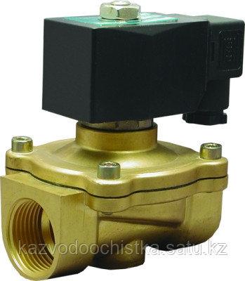 Электромагнитный (соленоидный) клапан нормально закрытый д 32 DN 25 220V