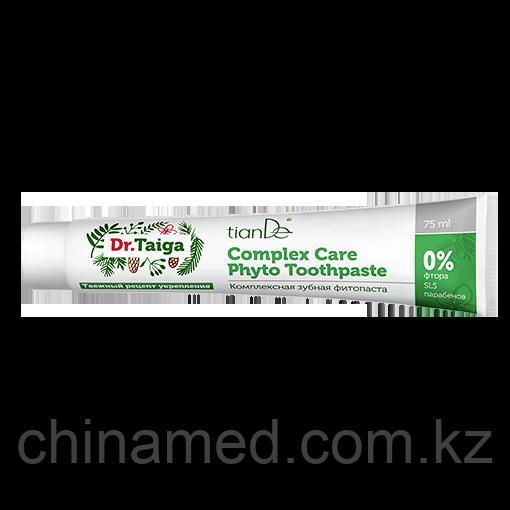 Комплексная зубная фитопаста