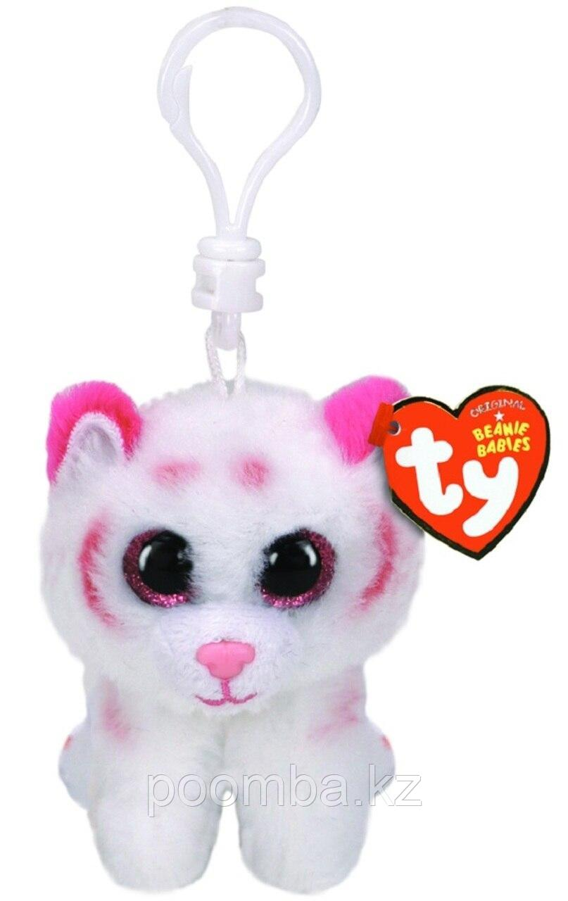 Игрушка-брелок Табор тигр розово-бел. 10 см
