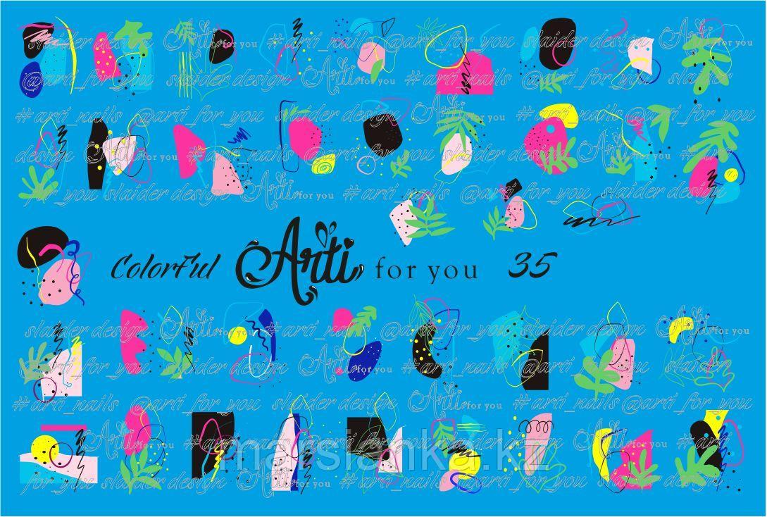 Слайдер дизайн ArtiForYou Color Ful #35