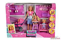 Кукольный набор Штеффи с детьми
