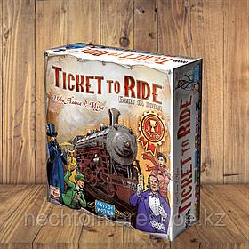 Ticket to Ride (Билет на поезд) Америка