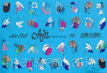 Слайдер дизайн ArtiForYou Air Foil золото #10