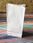 Крафт пакет белый 25х12х8 см 78 гр/м2, фото 2