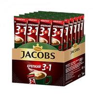 Кофе растворимый Jacobs Крепкий 3 в 1, 24 шт