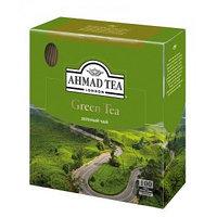 Зелёный чай Ahmad Tea, 100 пакетиков