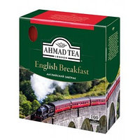 Чёрный чай Ahmad Tea English Breakfast, 100 пакетиков